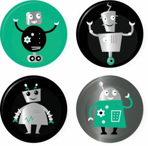2679731-cute-retro-robots-badget-collection-isolated-on-white