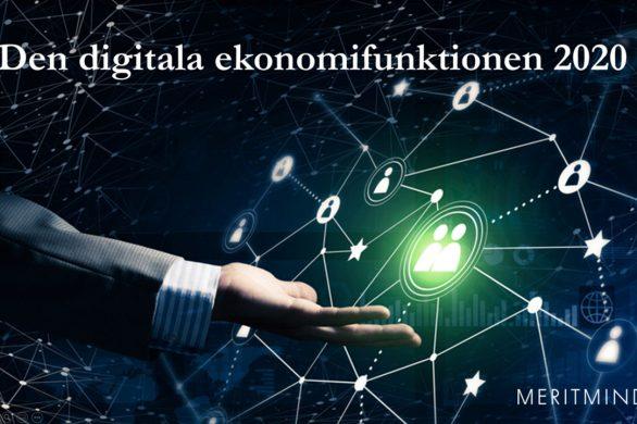 Den digitala ekonomifunktionen 12 maj 2020